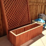 60 x 18 x 18 privacy planter