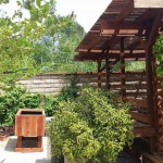 48 x 30 x 32 elevated redwood raised bed garden planter - In the hills in Glendale