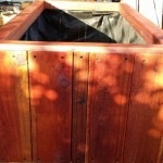 48 x 24 x 18 redwood planter