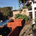 48 x 48 x 18 redwood garden planters