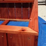 raised bed redwood planter
