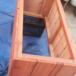 veggie planter Herb garden raised bed box