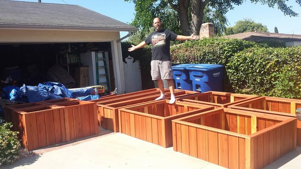 Herb Garden Outdoor Raised Beds Planter Boxes