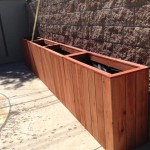 Transparent Sequoia Red Planter
