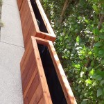redwood balcony planters - Bel Air