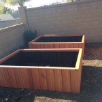 redwood raised bed garden planters