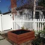 50 x 50 x 18 redwood planter