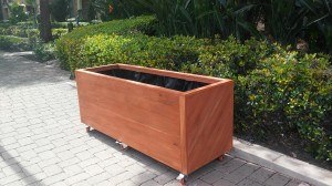 Curtis Custom Redwood Planters